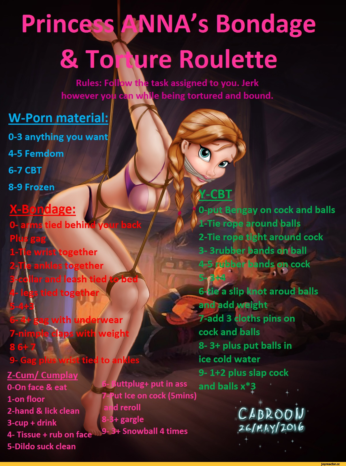 Bdsm roulette fact or crap game questions and answers