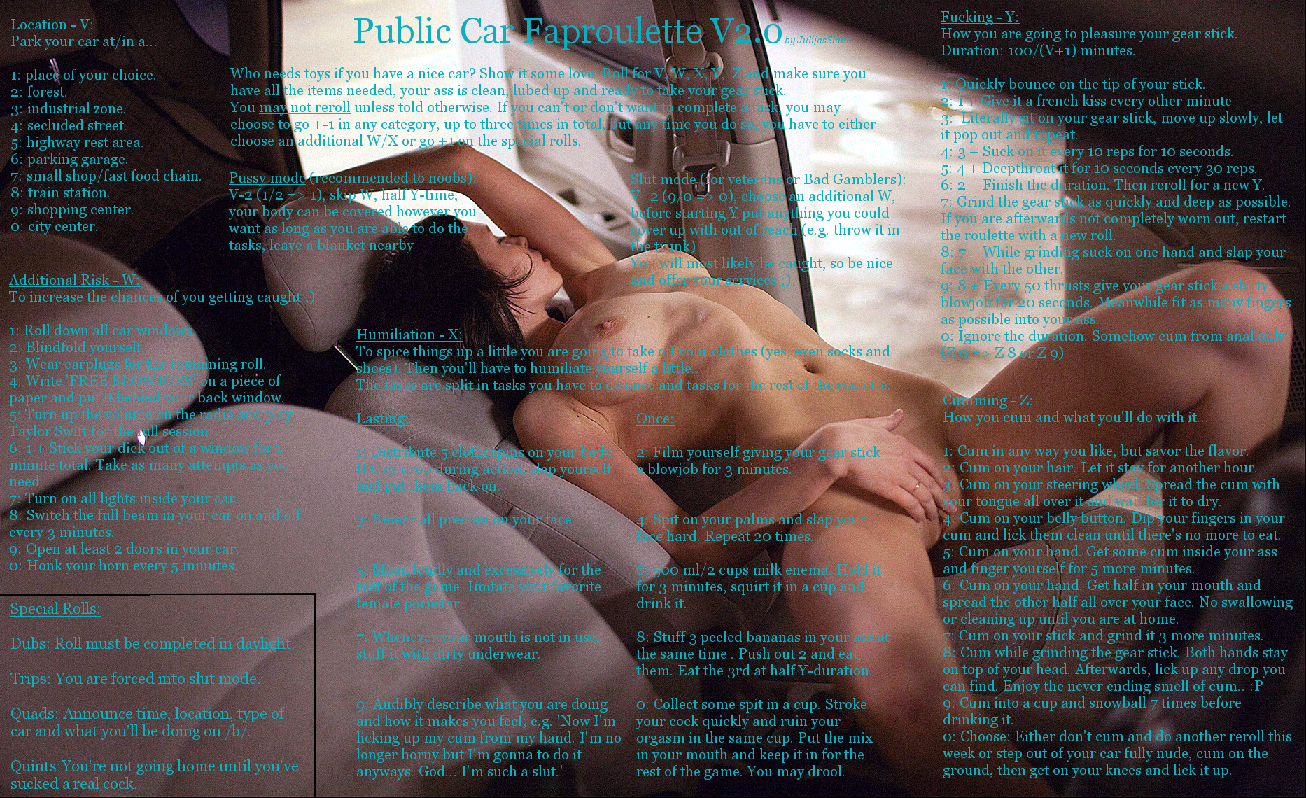 nude in publik faproulette