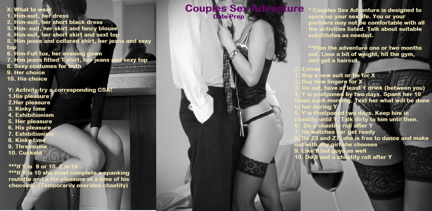 couples sex roulette