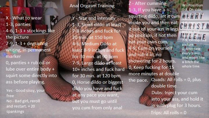 Skinny Teen Anal Orgasm
