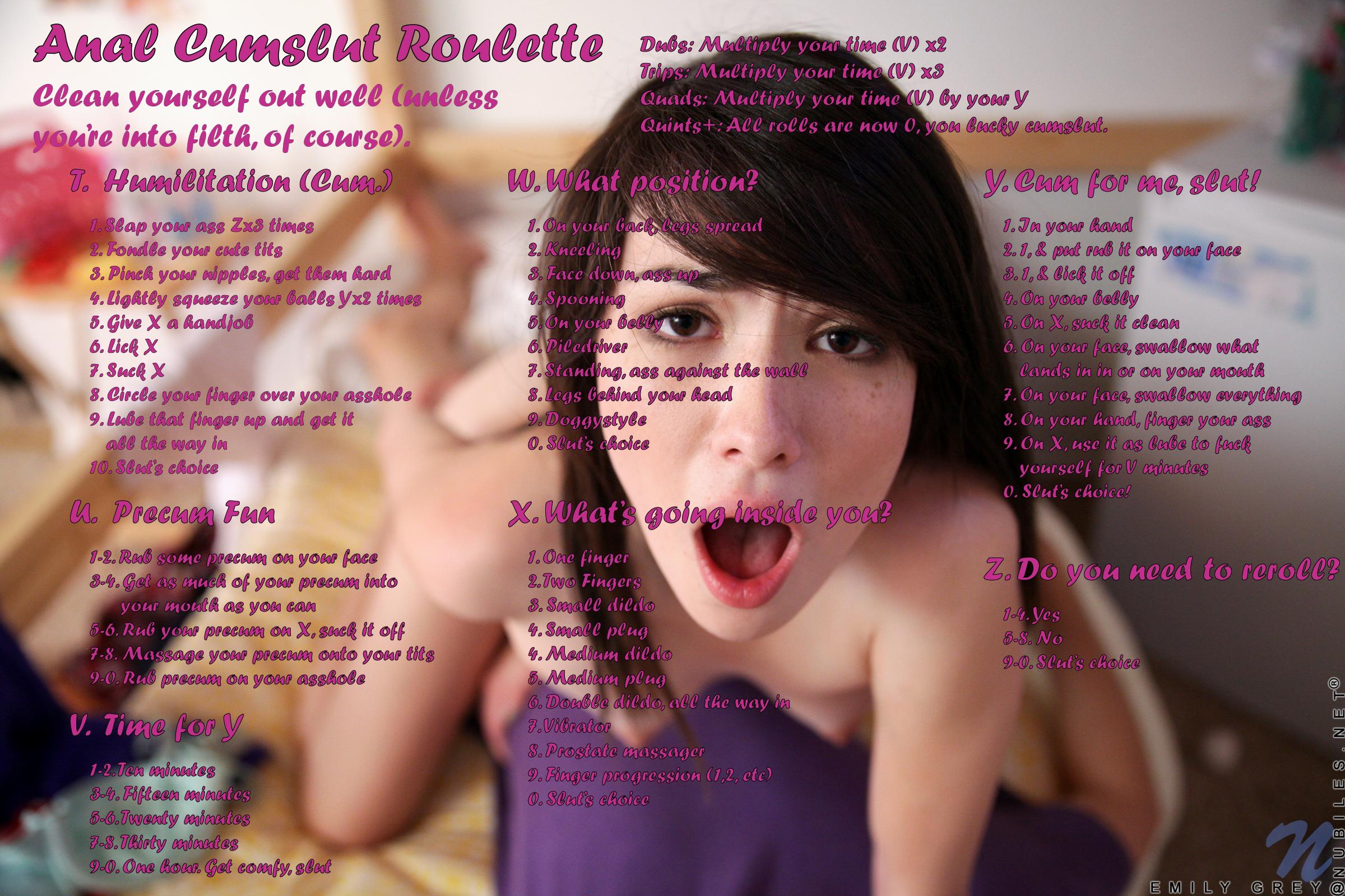Anal Cumslut Roulette - Fap Roulette-8225