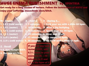 Huge Enema Punishment