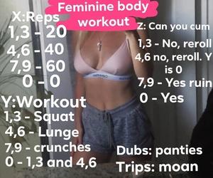 feminine workout