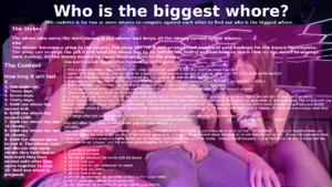 who is the biggest whore