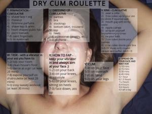 Dry cum roulette