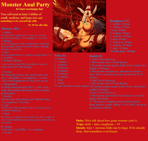 Monster Anal Party