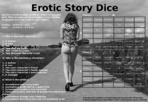 Erotic Story Dice