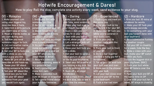Hotwife Encouragement And Dares!
