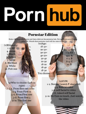 Pornstar roulette