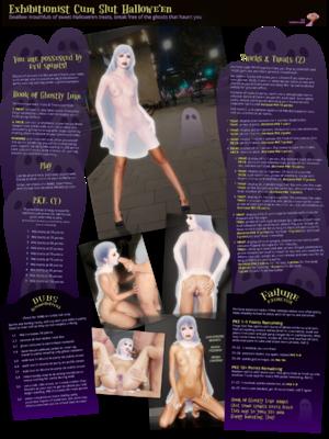 Exhibitionist Cum Slut Halloween