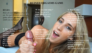 Ruined orgasm game
