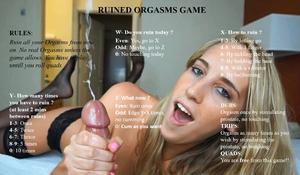 Ruined orgasm game