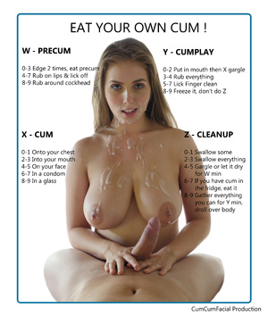 Eat your own cum !