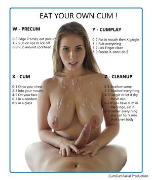 Eat your own cum !