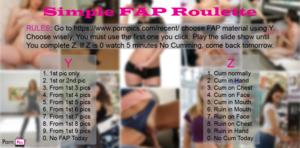 Simple FAP Roulette