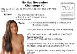 No Nut November Challenge