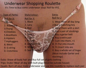 Panty Shoppers Roulette