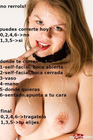 cum lover español cum eater comer semen spanish
