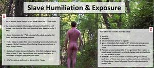 Slave Humiliation & Exposure
