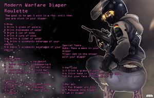 Modern Warfare Diaper Roulette