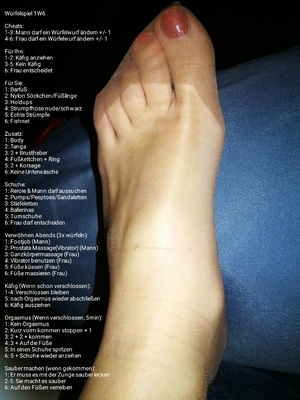 Chastity Feet