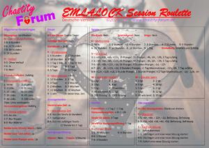 Emlalock Session Roulette [DE] - by chastity-forum.de
