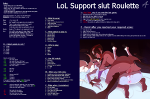 LoL Support slut Roulette
