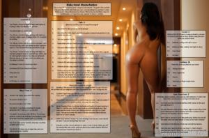 Risky Hotel Masturbation