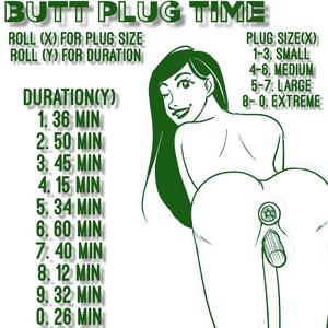 Butt plug time
