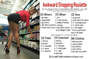 Awkward Shopping Roulette
