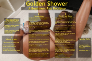Golden Shower Beignner's Piss Roulette