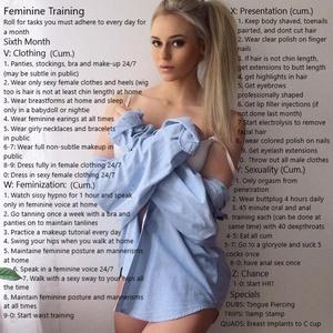 Feminine Training 6