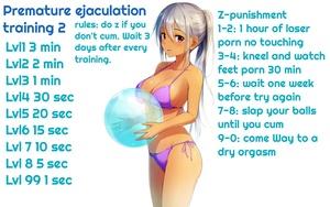 Premature ejaculation training 2