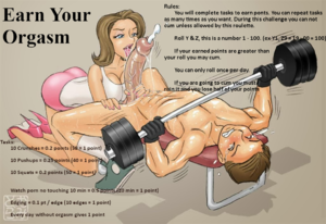 Earn Your Orgasm Roulette