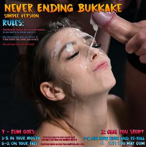 Never ending bukkake simple version