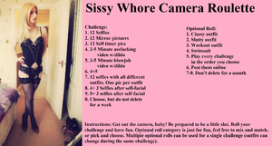 Sissy Whore Camera Roulette