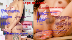 Edge or Anal