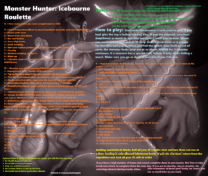 Monster Hunter Icebourne Anal Roulette
