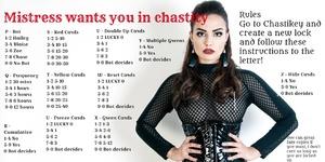 Chastikey chastity mistress