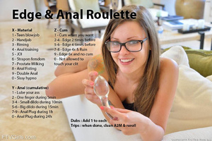 Edge And Anal roulette