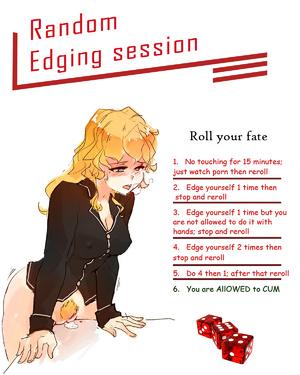 Random edging session
