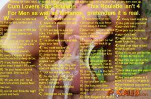 cum lovers fap roulette couples