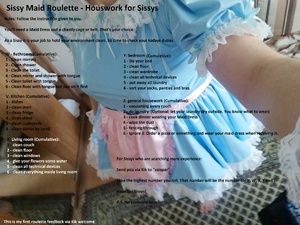 Sissy Maid Houswork