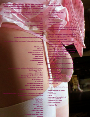 Hot Mistress and sissy roulette