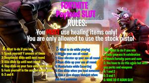Fortnite Payload Slut Roullette