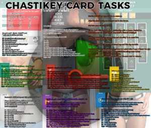 Chastikey Card Tasks