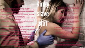 Kinky slave slut