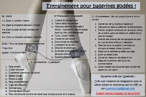 Entrainement pour ballerines godées [FR]