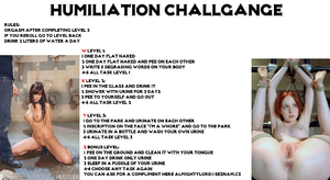Humilation challgange