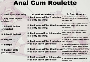 Anal Cum Roulette (Creampie Edition)